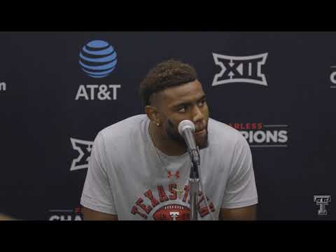 2018 Texas Tech Football Postgame Pressers - Players after TCU