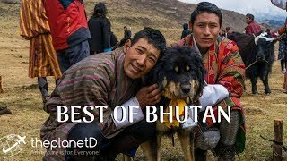 11 Best Places to Visit in Bhutan | Travel Vlog | 4K | The Planet D