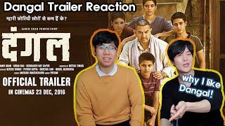 After Watching Aamir Khan's 'DANGAL' | Korean Bollywood Trailer Reaction | Dangal Trailer Reaction