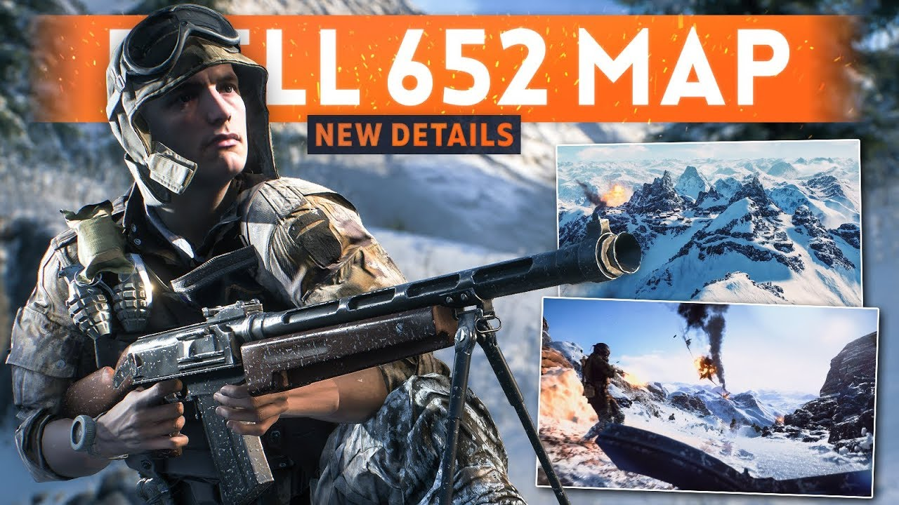 FJELL 652: THE 2ND SNOW MAP! - Battlefield 5 *NEW* Snow Map Gameplay (Details & Information)