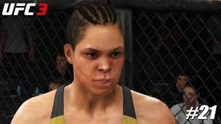 EA Sports UFC 3 - PS4 Pro 1080p 60fps match /  Amanda Nunes vs Valentina Shevchenko #21
