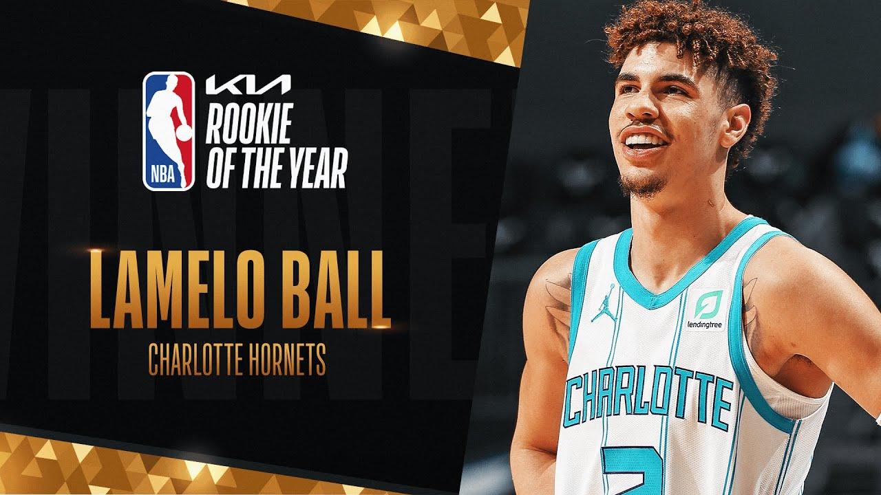 LaMelo Ball Wins #KIAROY Rookie of The Year!   2020-21 NBA Season