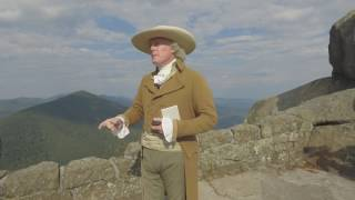 Thomas Jefferson hikes the Peaks of Otter, 2016