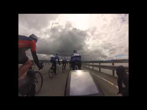 Trondheimsfjorden rundt med Team TVk-Victoria 2013