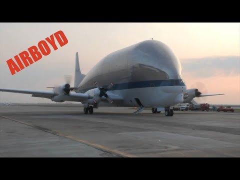 NASA Super Guppy Take Off (2012)