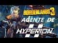 Borderlands 3 Zane agente de HYPERION