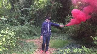 Red wire pull smoke bomb