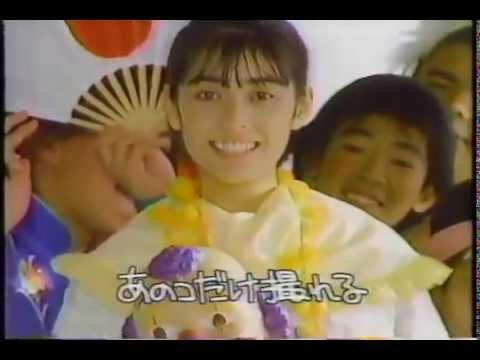 출발드림팀 동화약품 PENTAX ズーム70 佐倉しおり(1988年)