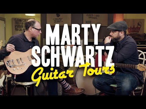 Joe Pisapia's Fascinating Collection | Marty's Guitar Tours