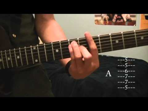 How to play Love Don't Die by the fray on guitar