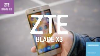 Связной. Обзор ZTE Blade X3