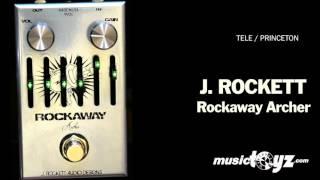 J. Rockett Rockaway Archer Guitar Overdrive Pedal