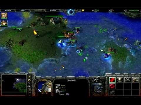 Прохождение Warcraft 3: Reign Of Chaos - Пришествие чумы #5