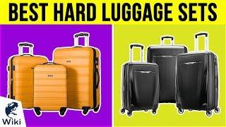 10 Best Hard Luggage Sets 2019