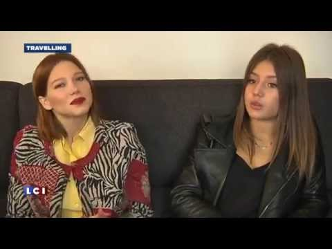 Download Lea Seydoux and Adele Exarchopoulos Interview «LCI»