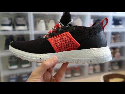 5e43d183bda7b Livestock x Adidas Consortium Pure Boost ZG PK  Rhythm  Sneaker Unboxing