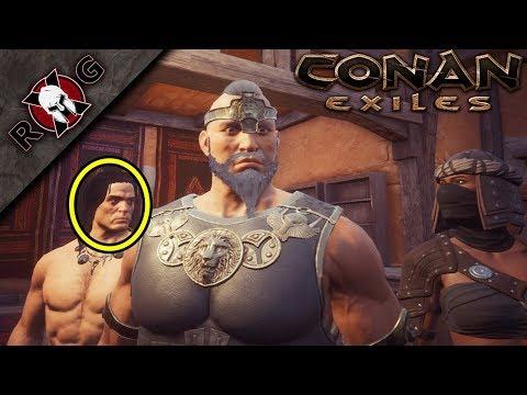 CONAN EXILES   WE MET CONAN & FOUGHT BIG BOOTY JUDY! Ep 7