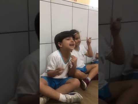 Alunos do Kindergarten (Bilingual Program)