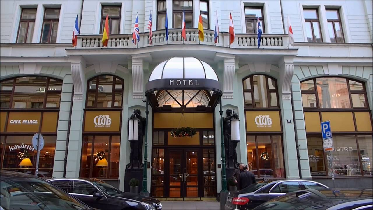 art nouveau palace hotel prague dezember 2015 youtube