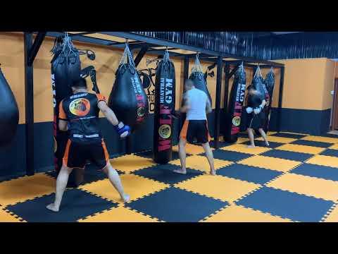 Bài tập mài đòn Muay Thái để tăng lực và tốc độ - Đòn tay combo 1 & 2, 3 & 4, 5 & 6