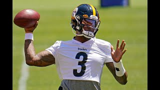 Dwayne Haskins Steelers Practice Highlights ᴴᴰ