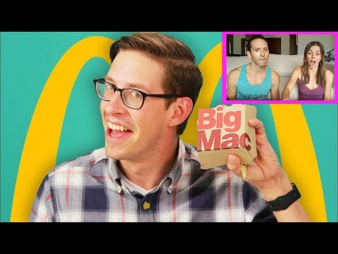 BuzzFeed: Keith Eats Everything At McDonald's | RESPONSE