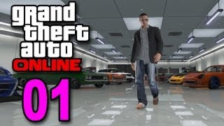 Grand Theft Auto 5 Multiplayer - Part 1 - Welcome to Online (GTA Let