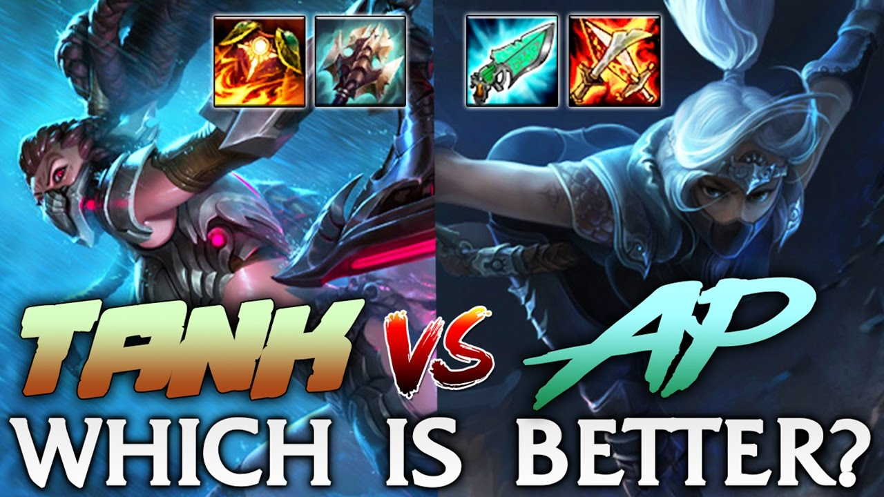 Tank or AP Akali? Which Is Better? Akali Top - League of Legends