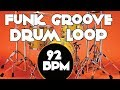 Download Drum track - Groove funk | 92 BPM MP3 song and Music Video