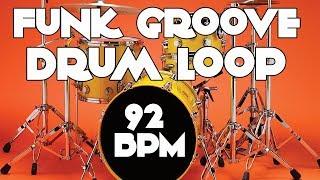 Drum Track - Groove Funk Beat   92 BPM