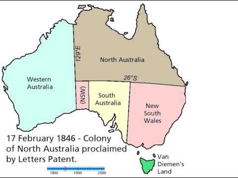 Australia Territorial Evolution