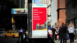 NYC Street Kiosk Displays (McGraw Hill Financial)