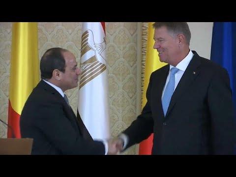 الرئيسان المصري والروماني يجتمعان في بوخارست ويبحثان الإرهاب والهجرة…  - نشر قبل 6 ساعة