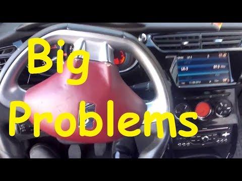 Citroen Steering Wheel / Big problems / Crazy Citroen / Peugeot steering wheel