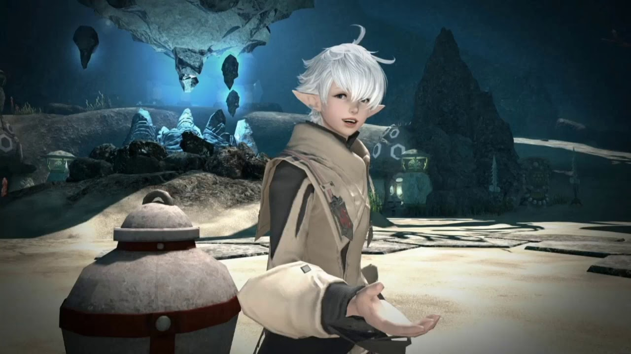 "FFXIV ""dating"" interaction from the 5-year anniversary 14-hour livestream (Part 1)"