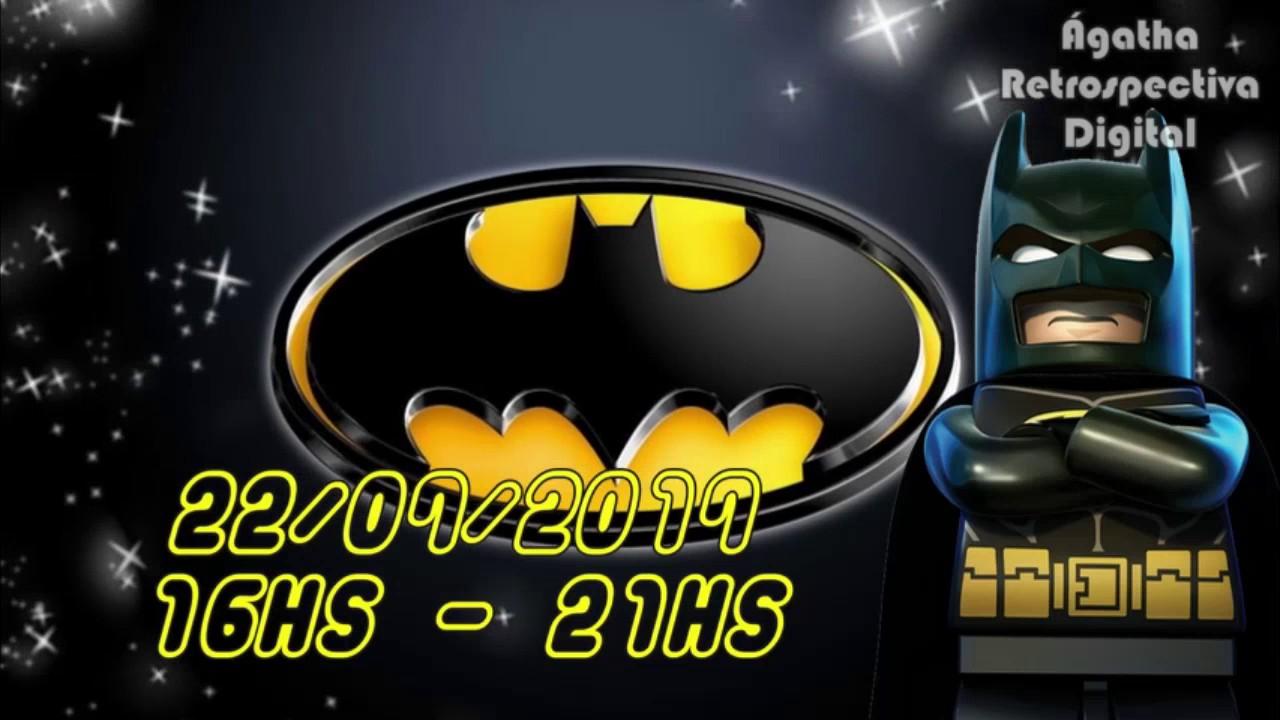 Convite Virtual Batman Lego Youtube