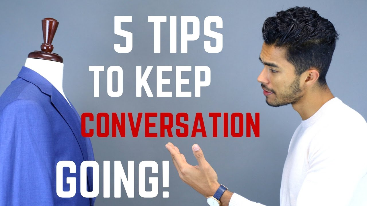 how to hold an interesting conversation