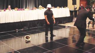 Surprise Michael Jackson Wedding Performance- Thriller, Smooth Criminal, Billie Jean BenjiManTV