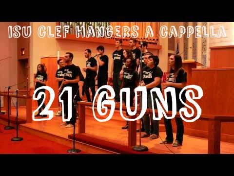21 Guns Green Day  ISU Clef Hangers A Cappella