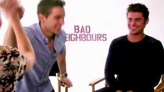 Zac Efron and Dave Franco get their flirt on with Maude