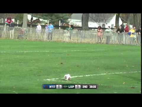 ECC Men's Soccer Championship - NYIT at LIU Post - YouTube