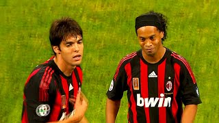 Quand Ronaldinho & Kaka étaient Inarrêtables