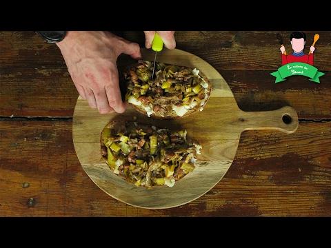 [recette-(-15-min)--tartine-express]-chèvre---lardons---poireaux