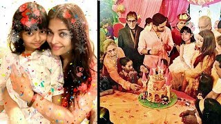 Aishwarya Rai's Daughter Aaradhya Bachchan Birthday Party 2017 INSIDE Jalsa Full Video