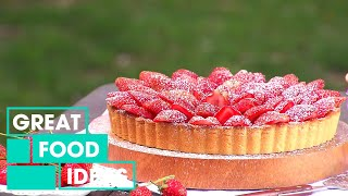 How To Make A Classic Strawberry Tart | Food | Great Home Ideas