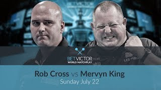 Rob Cross vs Mervyn King | BetVictor World Matchplay Preview Show | Darts 🎯