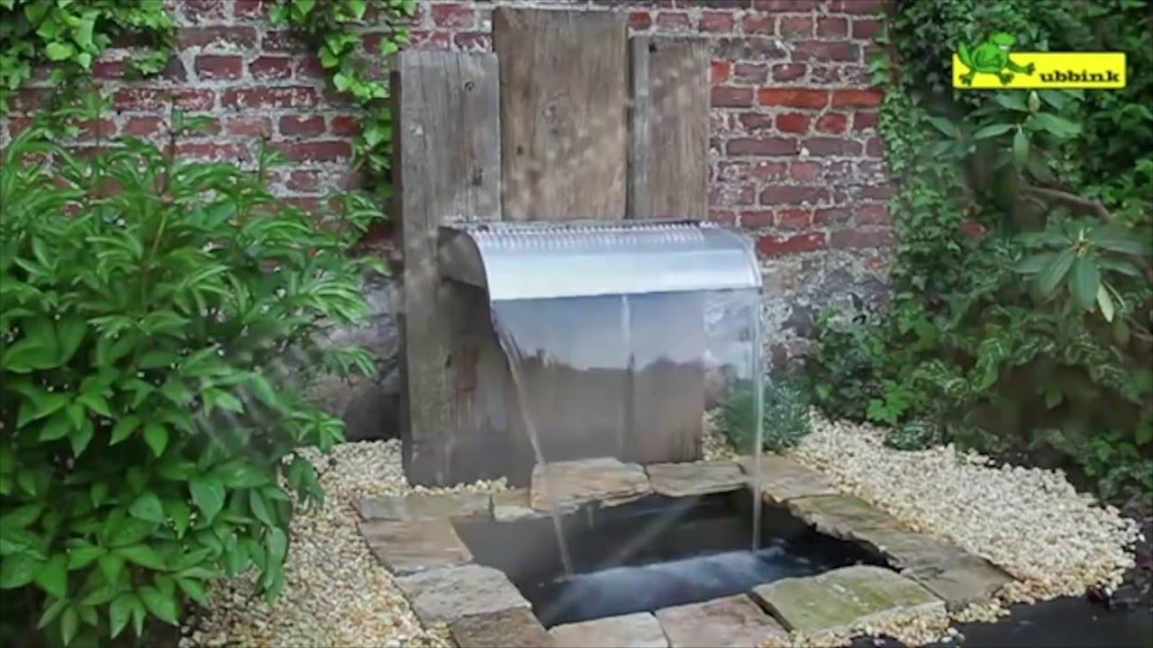 comment installer une fontaine de jardin jardinerie truffaut tv