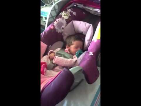 Kaity S Preemie Car Seat Challenge 2 Youtube