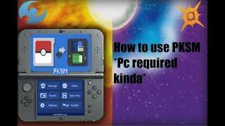 PKSM How to gen pokemon