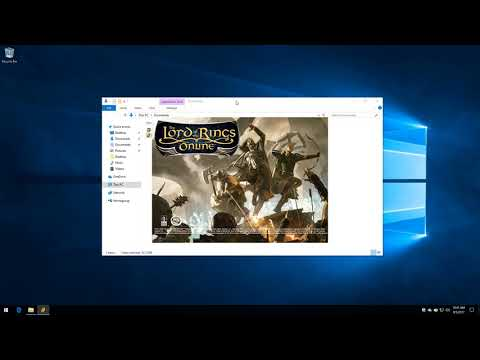 LotRO -- Installing and Getting to Know the Game Client.